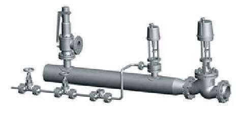 自动雾化伞状可调喷嘴减温装置W1