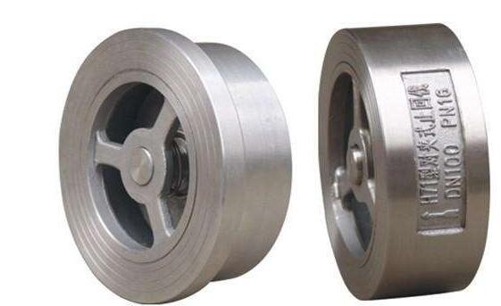 H71WH不锈钢对夹式止回阀